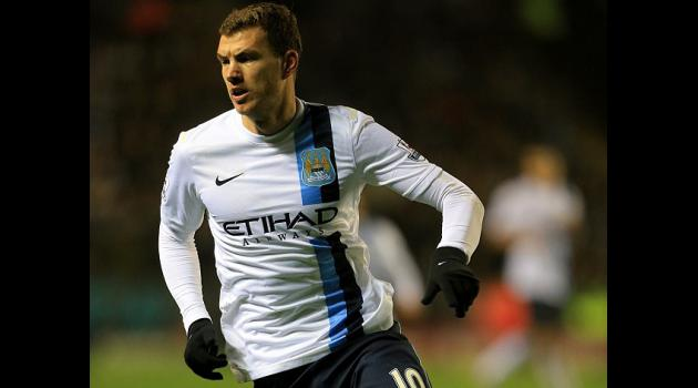 Dzeko looks to replace Aguero