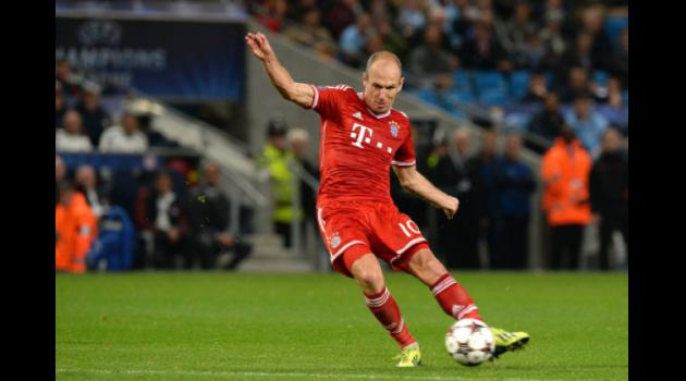 Bayerns injured Robben sits out Pilsen trip