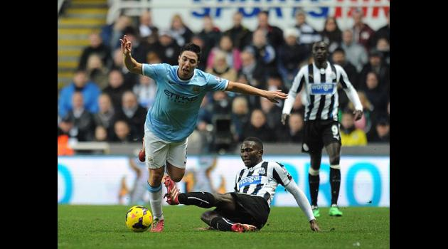 Nasri out for eight weeks