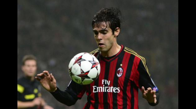 Kaka eyes turning point as Milan prepare for Celtic test