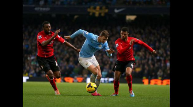 Manchester City 4-2 Cardiff : Match Report