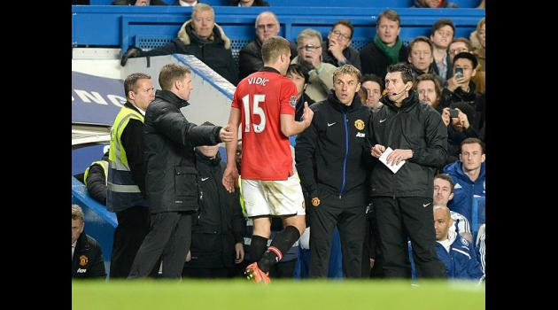 Vidic loses red card appeal