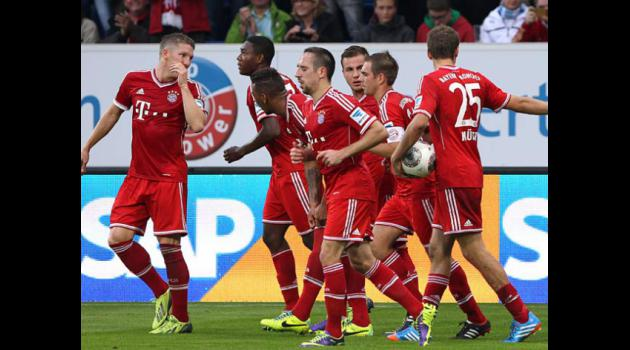 Bayern set to better 30-year-old league record