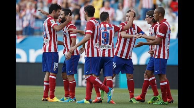 Atletico too strong for Zenit St Petersburg