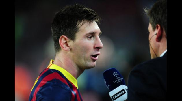 Barca boss Martino unconcerned by Messi goal drought