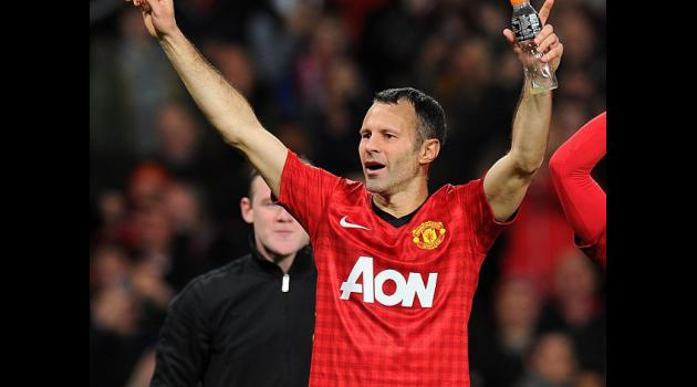 Giggs revels in 13th title