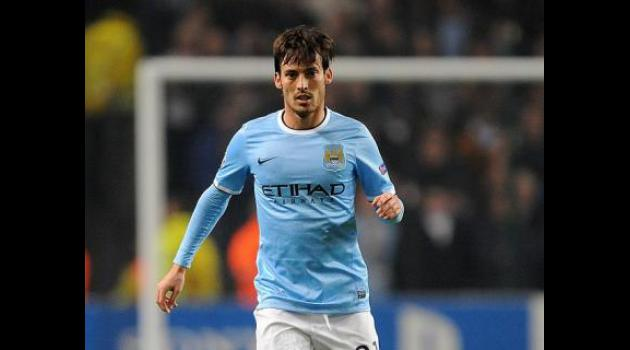 Silva on the shelf for City after picking up calf injury