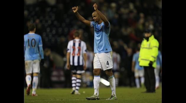 Kompany glad to be back in the Man City squad