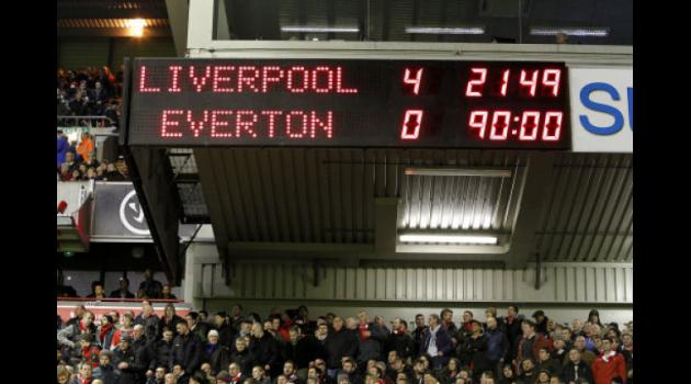 Liverpool 4-0 Everton : Reds tear derby rivals to shreds