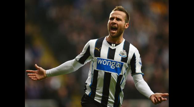 Pardew downbeat over Cabaye