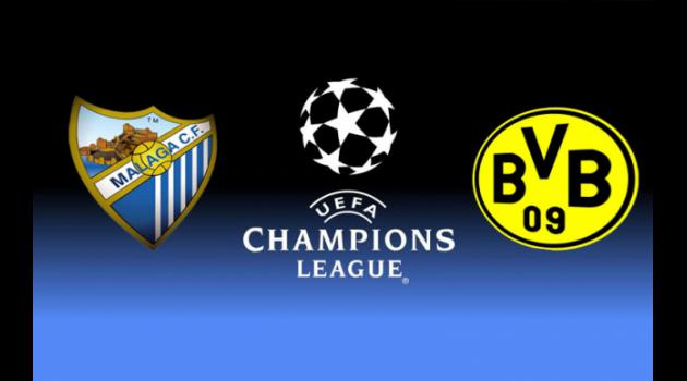 Malaga v Borussia Dortmund: Champions League Match Preview