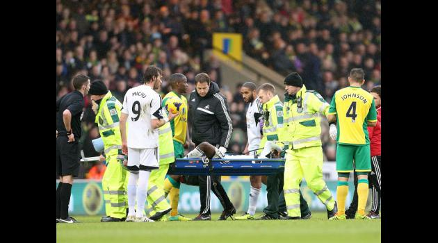 Dyer injury knocked us - Laudrup
