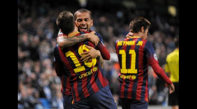 Manchester City 0-2 Barcelona: Catalan class act in Manchester