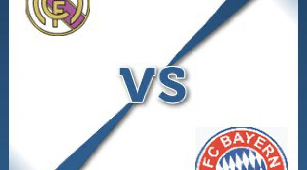 Real Madrid V Bayern Munich - Follow LIVE text commentary