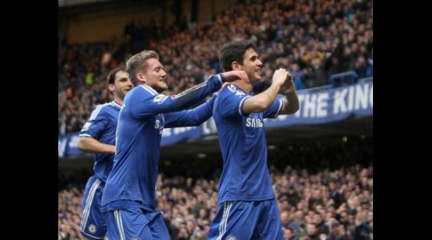 Oscar seals Chelsea progression