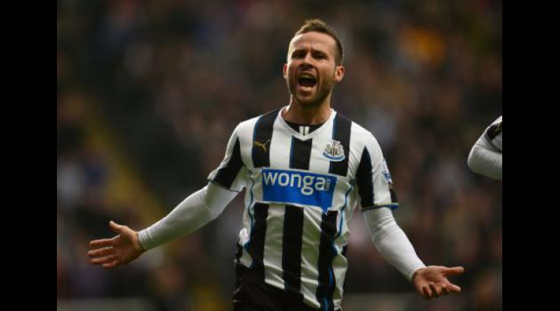 Arsenal and Liverpool target Newcastle's Cabaye