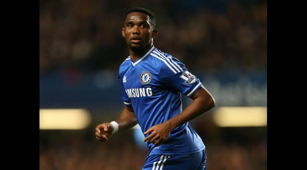 Eto'o laughs off age remarks