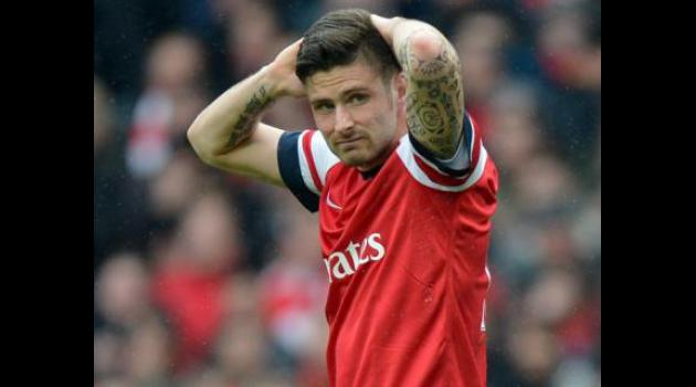 Giroud nets hat-trick in Arsenal romp