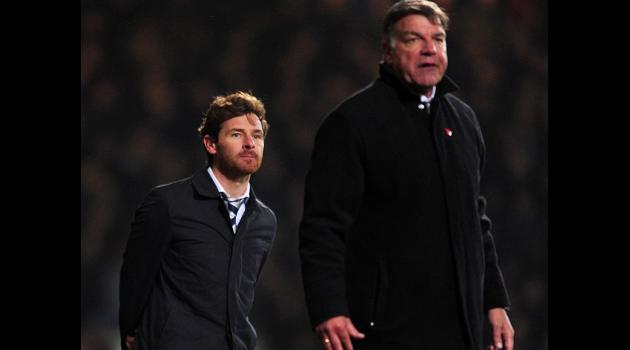 Allardyce: AVB reaction immature