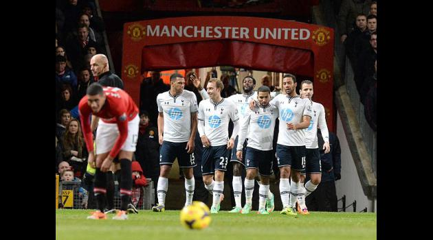 United unbeaten run ended by Tottenham