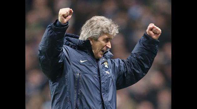Pellegrini plots 2014 title push
