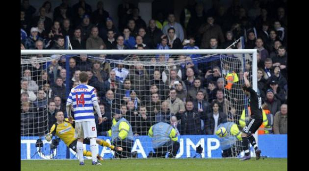 Chelsea down QPR after spot-kick controversy