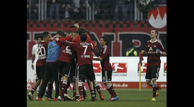 Nuremberg down Hertha to escape bottom three