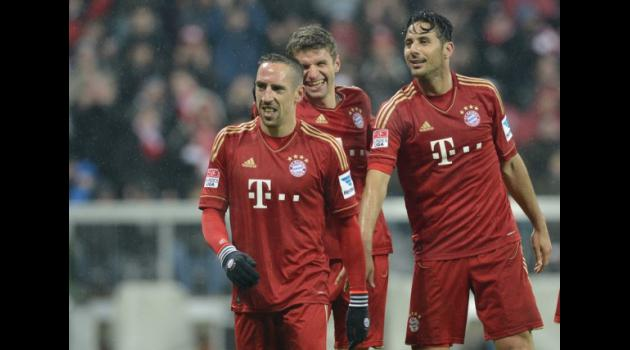 Bayern Munich on verge of Bundesliga title