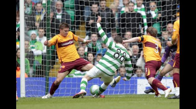 Europe-bound Motherwell down Celtic