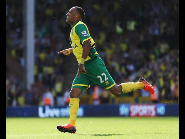 One for the future, Norwich winger Nathan Redmond