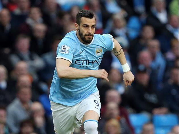 Negredo: I don't want to leave City