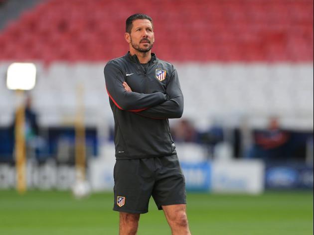 Simeone happy at Atleti