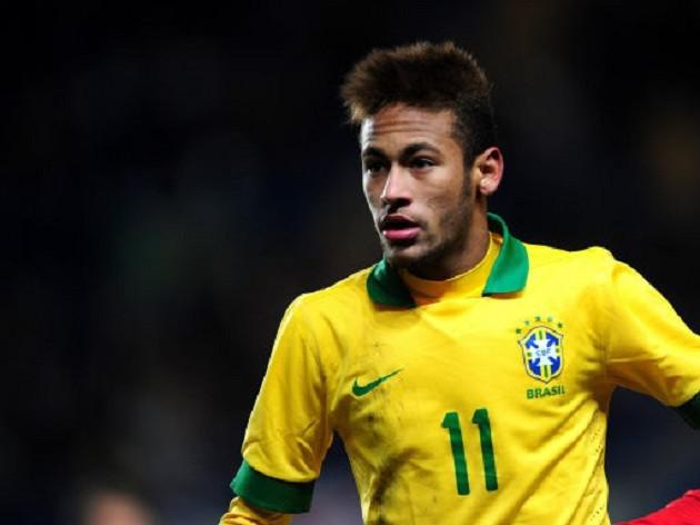Neymar unveiled by Barcelona