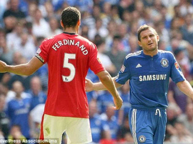 Rio Ferdinand won't talk to Frank Lampard ahead of title showdown
