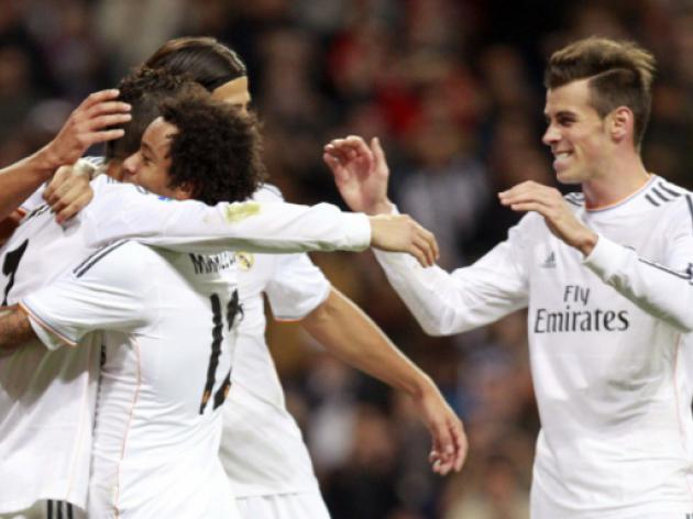 Bale on target as Madrid cruise into last 16