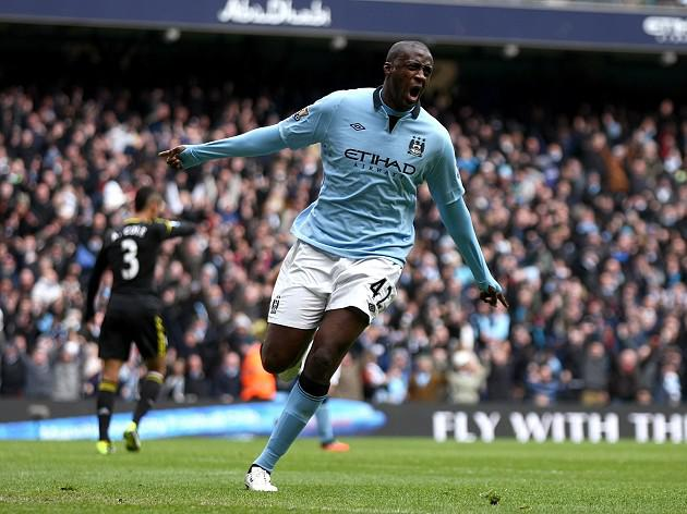 Yaya Toure says, 'We'll keep pushing Manchester United'