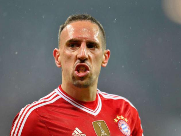 Bayern wait on Ribery for Arsenal after buttocks op