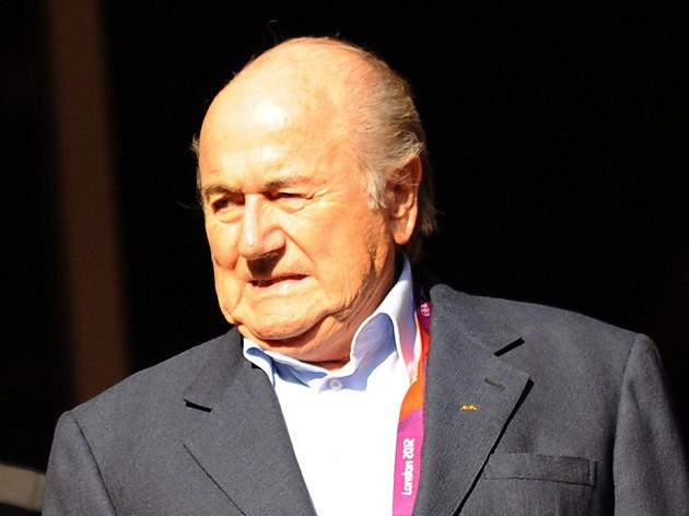 Blatter risks criticism over remark