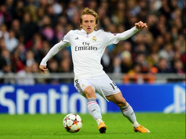 Modric back in training after three months out