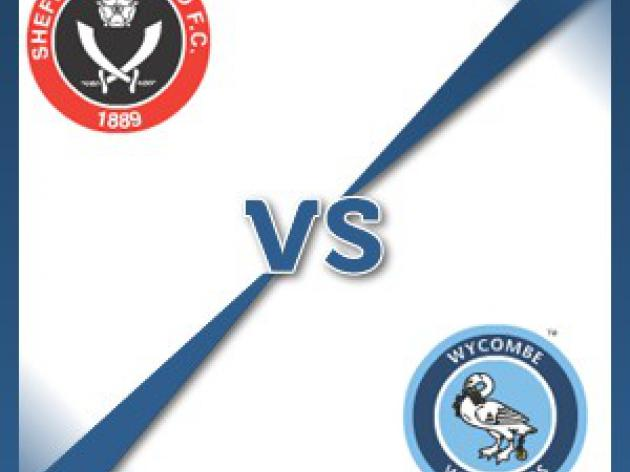 Sheffield United V Wycombe Wanderers - Follow LIVE text commentary