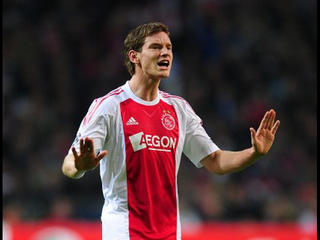 Vertonghen resigned to Ajax stay