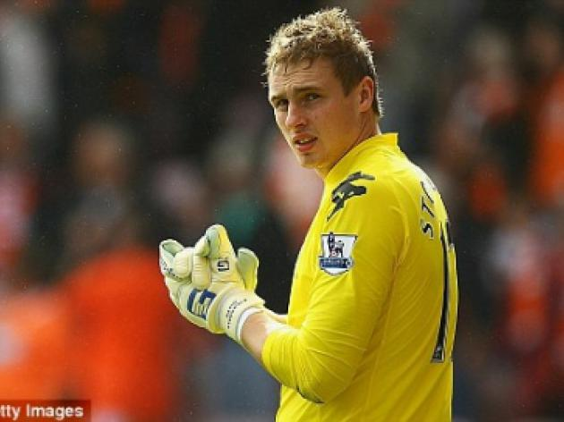 Fulham goalkeeper David Stockdale looking for Swansea loan