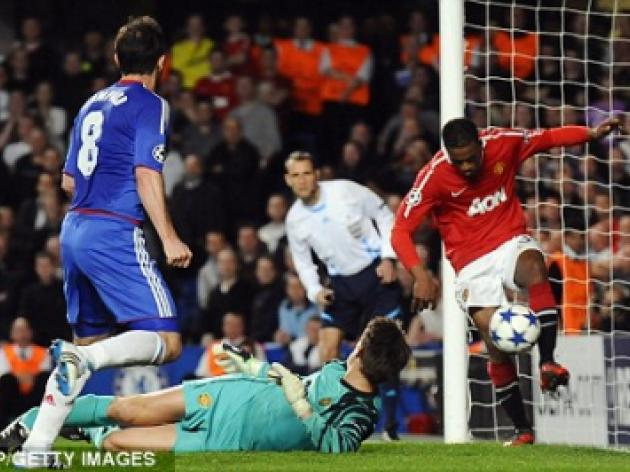 Patrice Evra: Forget treble, Chelsea clash is far from over
