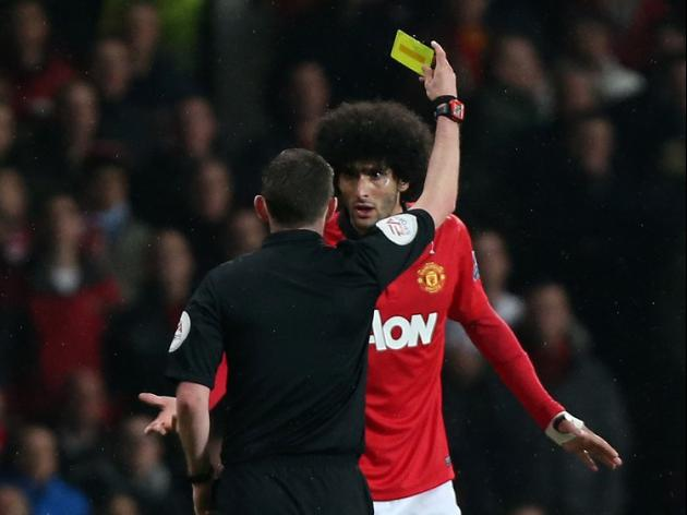 FA studies Fellaini 'spit'