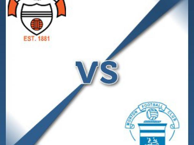 East Stirlingshire V Morton - Follow LIVE text commentary