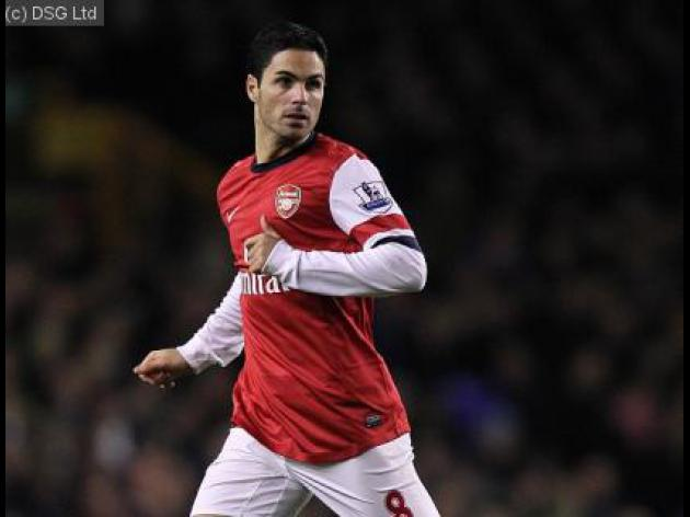 Arteta says Arsenal players are demanding more training