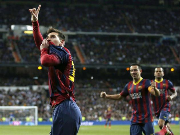 Bernabeu thriller puts Barca back in La Liga title race
