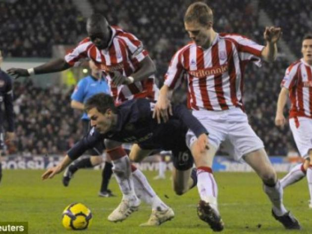 West Ham v STOKE: Ryan Shawcross still a doubt with Dean Whitehead suspended