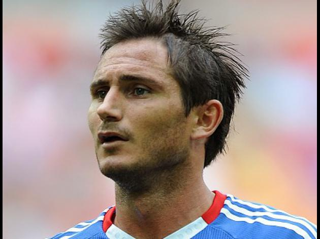 Lampard absent for Manchester City clash