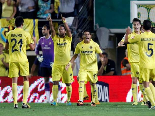 Villarreal game suspended due to tear gas canister